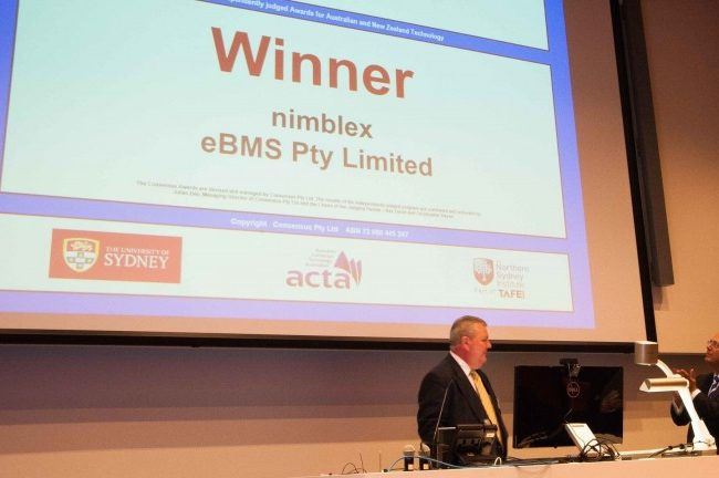 Winner of 2014 Consensus Software Award